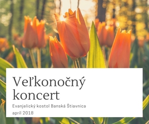 veľkonočný koncert Banská Štiavnica